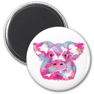 Big pink pig dirty ego magnet