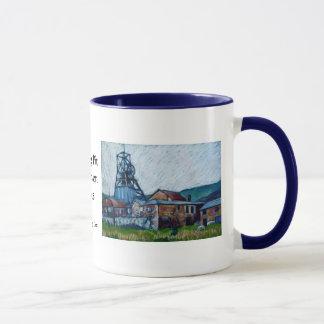 'Big Pit, Blaenavon' Coffee Mug
