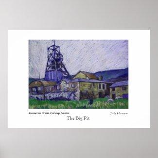 Big Pit Poster/Print print