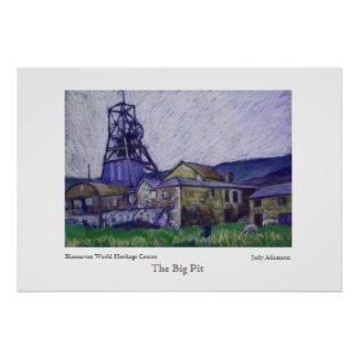 Big Pit Poster/Print
