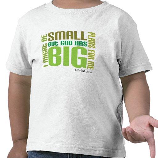 Big Plans Christian toddler t-shirt