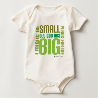 Big Plans Organic Christian baby creeper/vest Baby Bodysuit