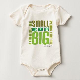 Big Plans Organic Christian baby creeper/vest Creeper