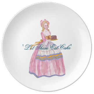 Big Plate for cake lovers - 'Let Them Eat Cake'