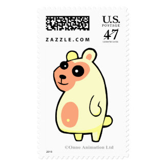 Big Polar Bear Postage Stamp