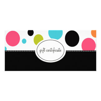 Big Polka Dots Boutique Style Gift Certificates