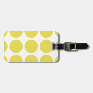 Big Polka Dots Luggage Tag