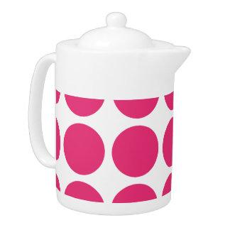 Big Polka Dots Teapot