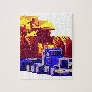 Big Pop Art Trucks Jigsaw Puzzles