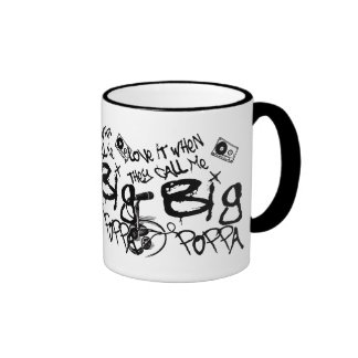 Big Poppa Ringer Coffee Mug