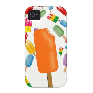 Big Popsicle Chaos by Ana Lopez Case-Mate iPhone 4 Cases