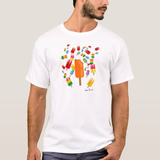 Big Popsicle Chaos by Ana Lopez T-Shirt