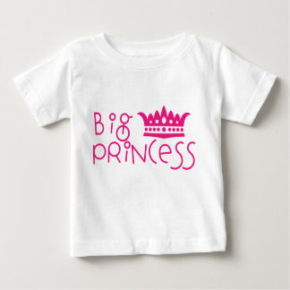 Big Princess with Crown Big Sister Shirt