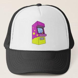Big Purple Arcade Game Trucker Hat