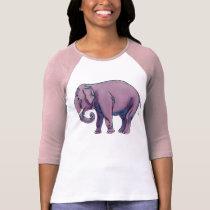 Big Purple Elephant T-Shirt