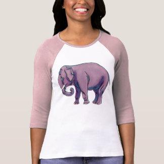 Big Purple Elephant T Shirts