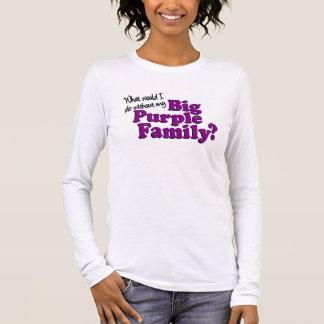 Big Purple Family Long-Sleeved T-shirt