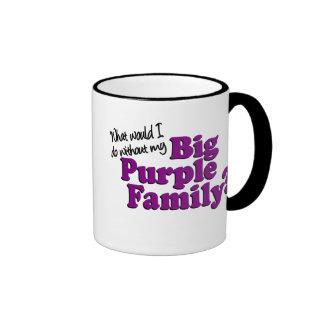 Big Purple Family Mug #1