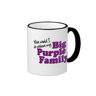 Big Purple Family Mug #2