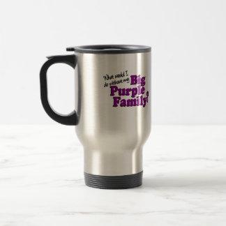 Big Purple Family Travel Mug
