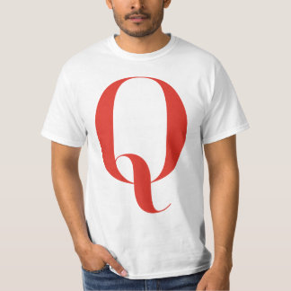 Big Q: Jeanne Moderno Lettres T-Shirt