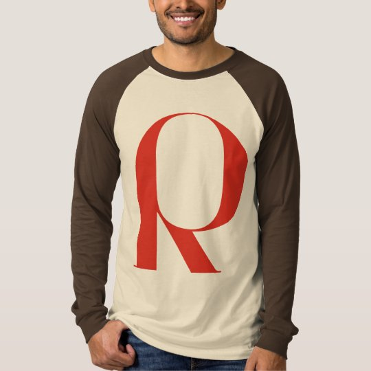 Big R: Jeanne Moderno Lettres T-Shirt
