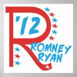 Big R Romney Ryan Print