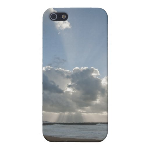 Big rays through clouds case for iPhone 5