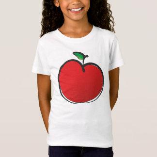 Big Red Apple Drawing T-Shirt
