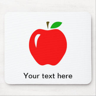 Big Red Apple Mousepads