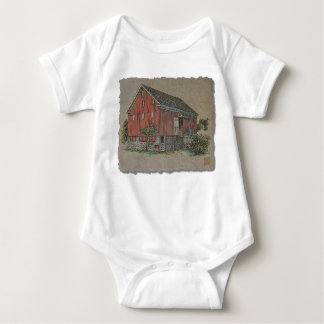 Big Red Bank Barn Infant Creeper