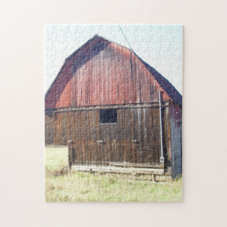 Big Red Barn Jigsaw Puzzle