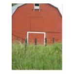 Big Red Barn Postcard