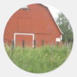 Big Red Barn Sticker