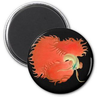 Big Red Betta Fish Magnet