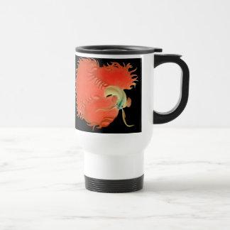 Big Red Betta Fish Mug