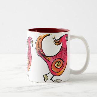 Big Red Birdie Mug