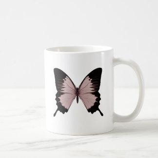 Big Red & Black Butterfly Coffee Mug