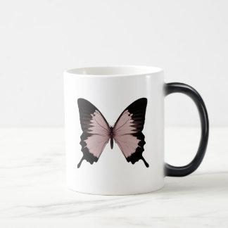 Big Red & Black Butterfly Magic Mug
