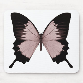 Big Red & Black Butterfly Mouse Pad