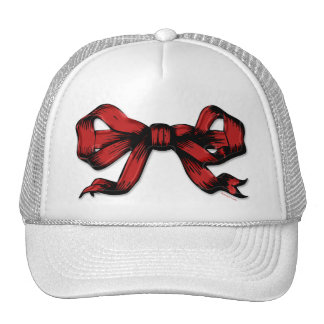 Big Red Bow Hat