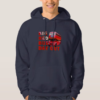 Big Red Bus Day Out Hoodie
