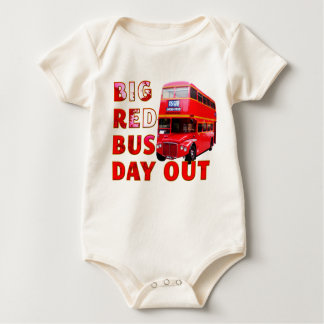 Big Red Bus Day Out Romper
