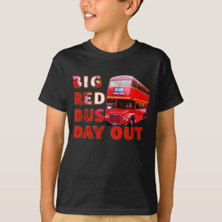Big Red Bus Day Out T-Shirt