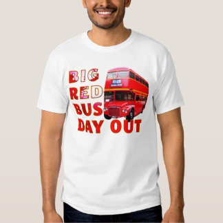 Big Red Bus Day Out T Shirt
