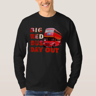 Big Red Bus Day Out Tee Shirt