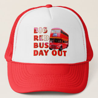 Big Red Bus Day Out Trucker Hat