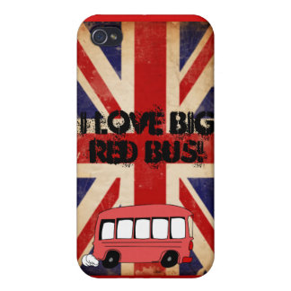 big red bus cases for iPhone 4
