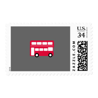 Big Red Bus Postage