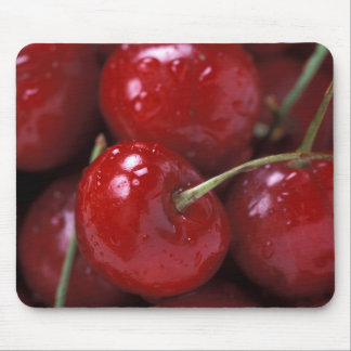 Big Red Cherries Mouse Pads